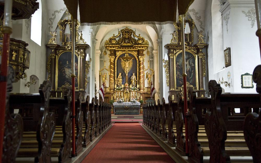 Bilder zu: Gottesdienstzeiten im Kloster Kreuzberg