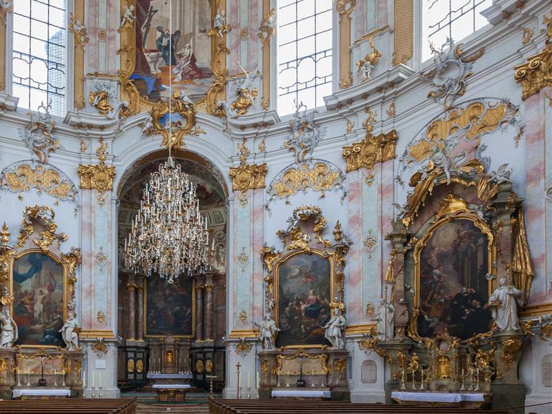 Bilder zu: Führungen im Kloster Ettal