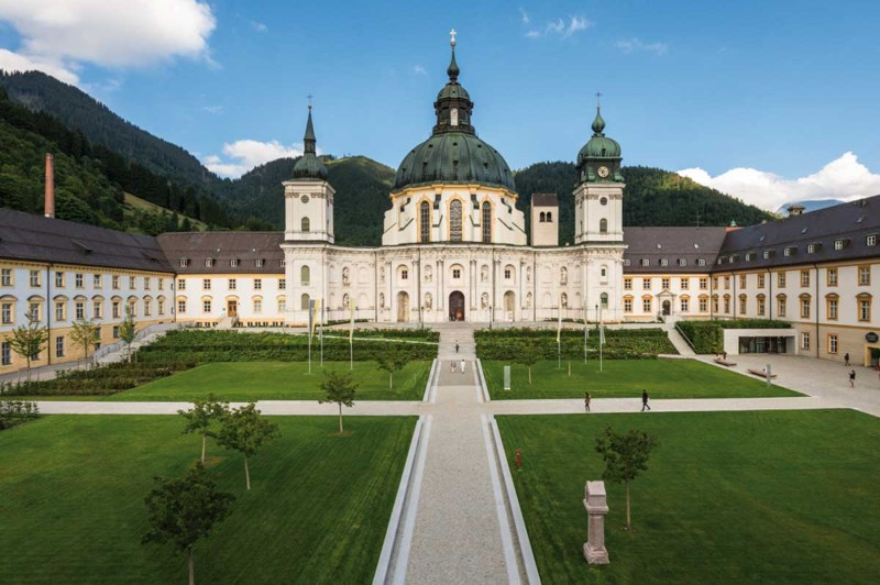 Bilder zu: Benediktinerabtei Ettal