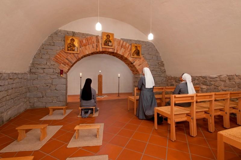 Kloster-Hegne-Anbetungsraum