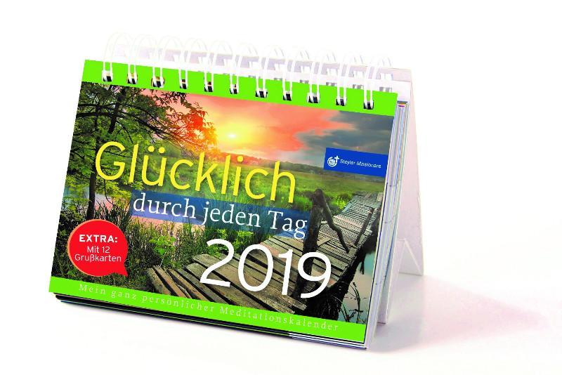 steyler tischkalender 2019 klosterportal. Black Bedroom Furniture Sets. Home Design Ideas