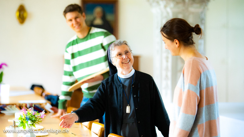 Zu Gast im Kloster